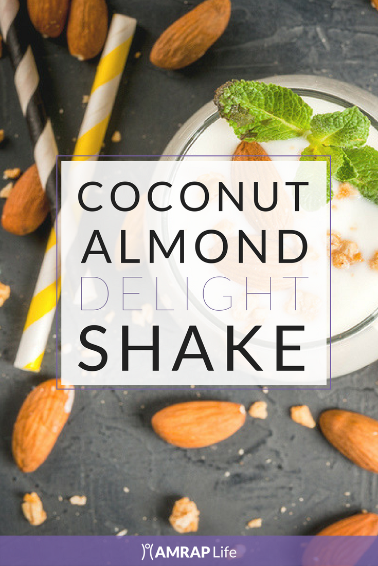 Coconut Almond Delight Recovery Shake
