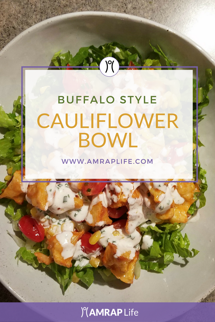 Cauliflower Bowl: Buffalo Style