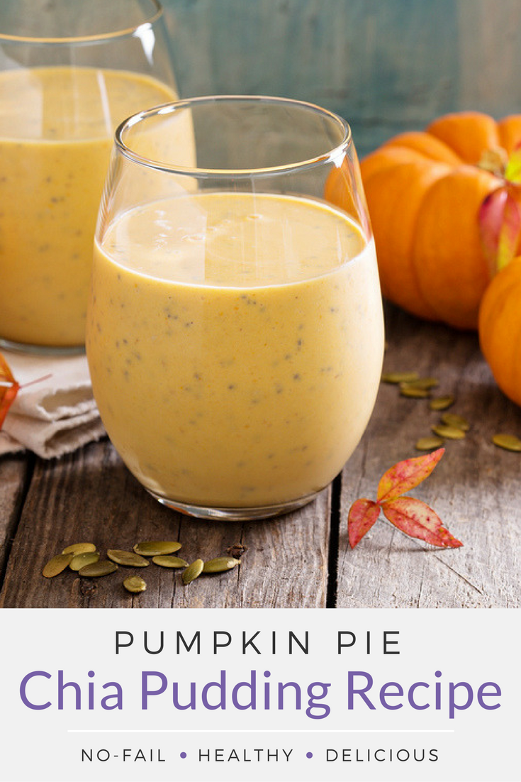 Whole30 Friendly Pumpkin Pie Chia Pudding