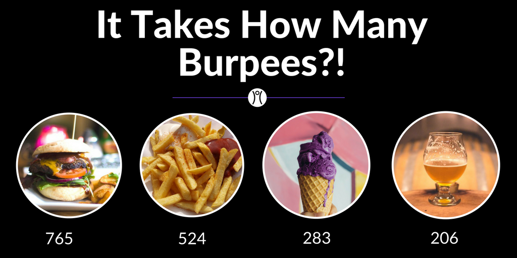 You Won't Believe How Many Burpees it Takes to Burn Off That Guilty Pleasure