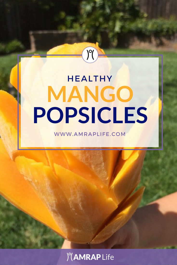 Mango Flower Popsicle