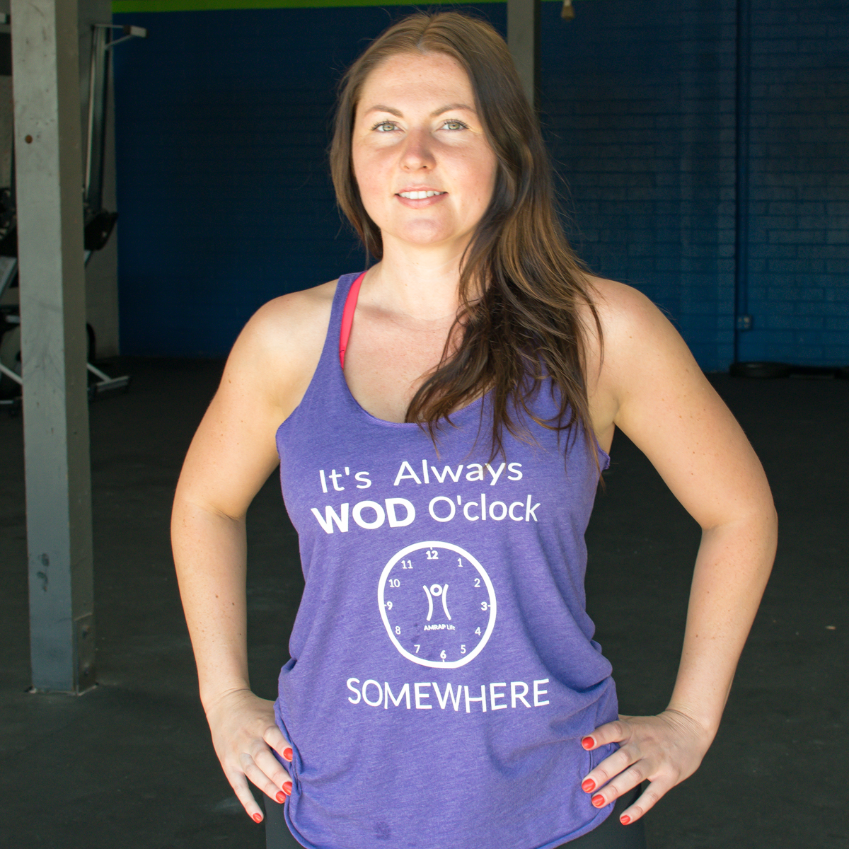 It's Always WOD O'clock Women's Tank Top