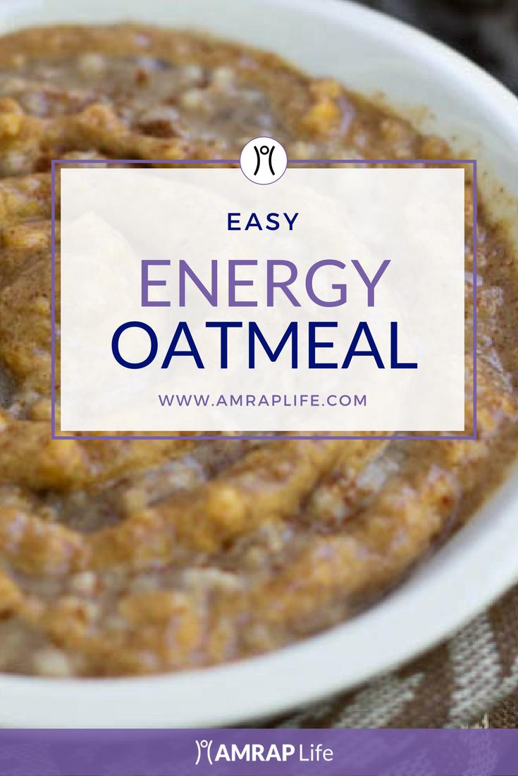 Energy Oatmeal