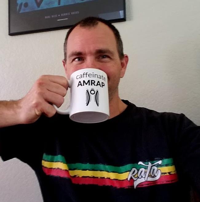 Caffeinate AMRAP Coffee Mug
