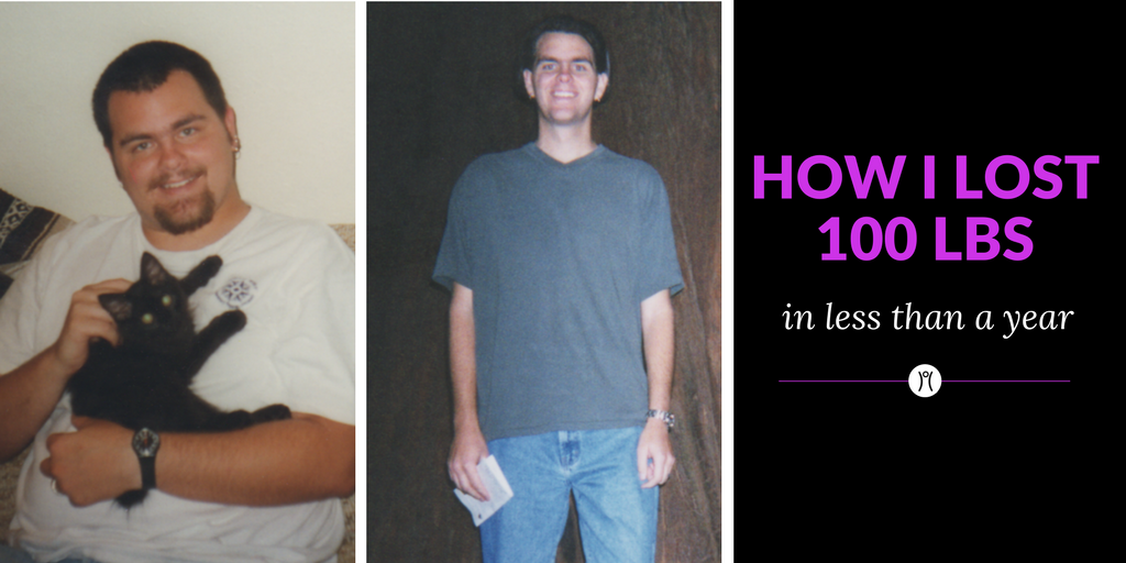 How I lost over 100 pounds in less than a year.