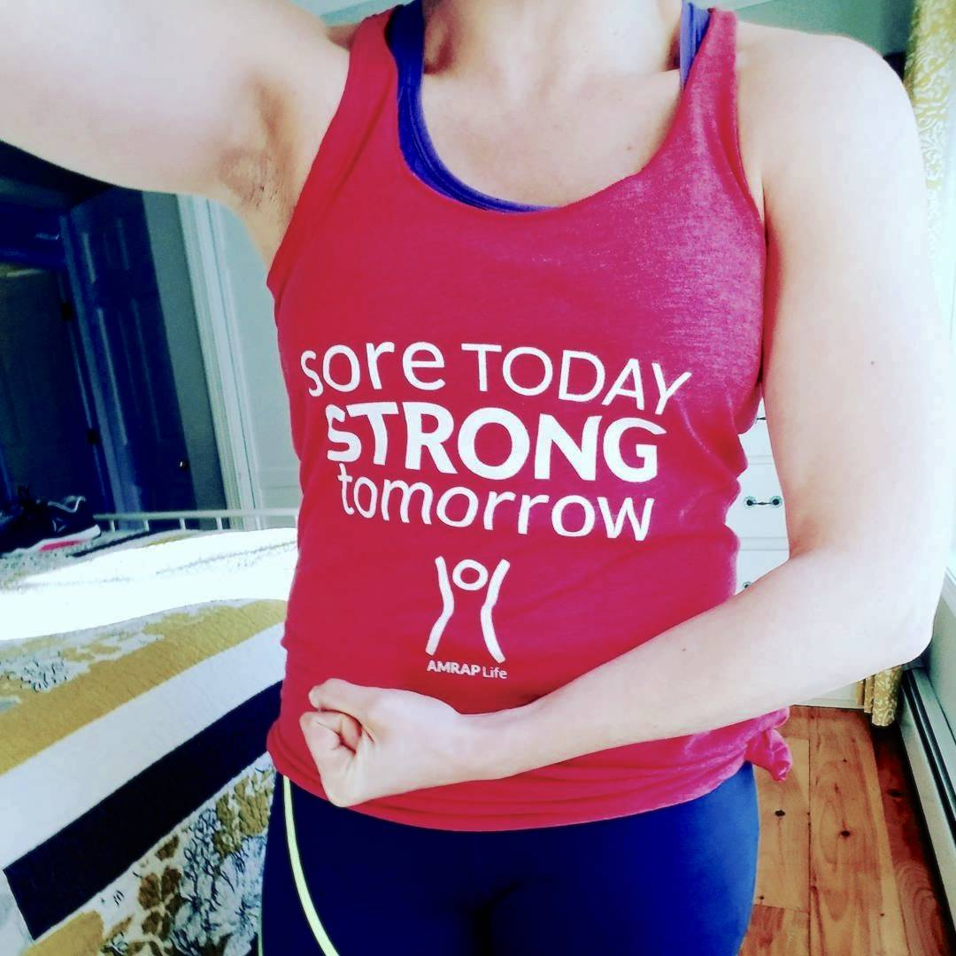 Sore Today Strong Tomorrow Women's Tank