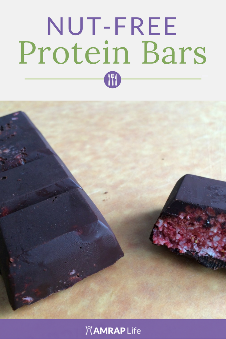 Nut-Free Super Easy Protein Bar Recipe